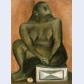 Mujer en gris