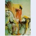 The christian knight dali s horses