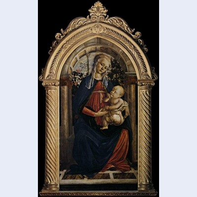 Madonna of the rosegarden