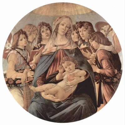 The virgin adoring the child 3