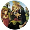 Virgin and child with the infant st john the baptistbetween