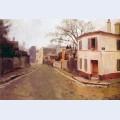 Rue des saules in montmartre