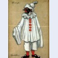 Costume designs for petrushka by stravinsky in metropolitan opera jester
