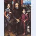 Family portrait minerva amilcare and asdrubale anguissola