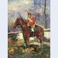 The mounted red hussar