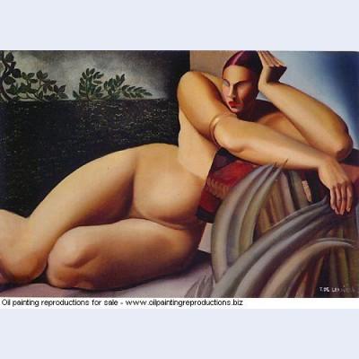 Nude on a terrace 1925