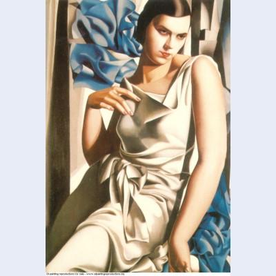 Portrait of mrs m 1932