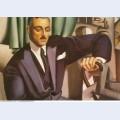 Portrait of prince eristoff 1925