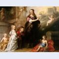 Josina copes van westrum and her children
