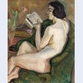 Reading nude nu la lecture