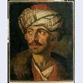 Head of an oriental or portrait presumed to be mustapha