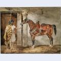 Horse eastern