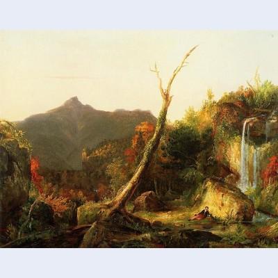 Autumn landscape mount chocorua
