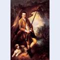 William poyntz of midgham and his dog amber