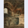 The ruins of the emperor julian s baths h tel de cluny paris