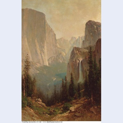 Early morning yosemite valley
