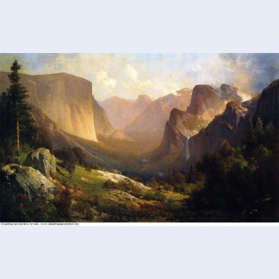 Xx view of yosemite valley xx private collection