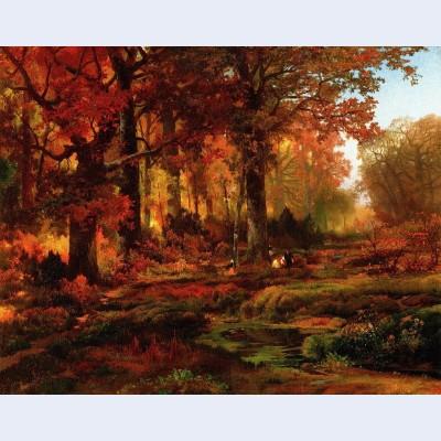 Cresheim glen wissahickon autumn 2