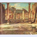 Pompeji have house of the chirurgus with the vesuv