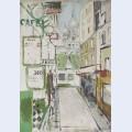 Rue de steinkerque in paris