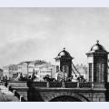 Anichkov bridge in st petersburg