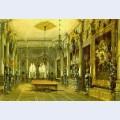 Knight s hall in verkiai palace vilnius lithuania