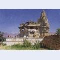Brahminic temple in adelnure