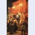 Acrobats festival in a paris suburb