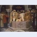 Baptism of prince vladimir fragment of the vladimir cathedral in kiev