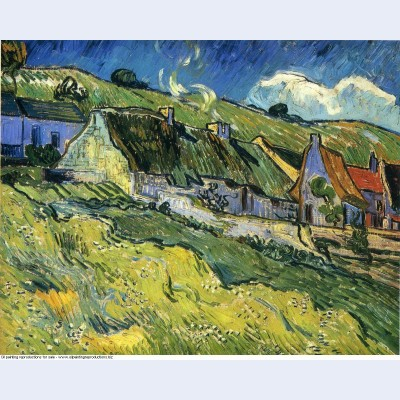 A group of cottages 1890 1