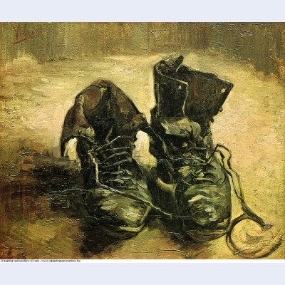 A pair of shoes 1886 1