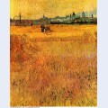 Arles view from the wheat fields 1888 1