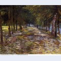 Avenue in voyer d argenson park at asnieres 1887 1