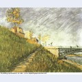Banks of the seine near pont de clichy 1887 1