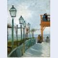 Belvedere overlooking montmartre 1886 1