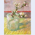Blossoming almond branch in a glass 1888 1