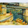 Bridges across the seine at asnieres 1887 1