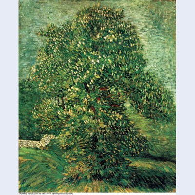 Chestnut tree in blossom 1887 1