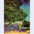 Chestnut tree in blossom 1890 1