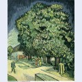 Chestnut trees in blossom 1890 1