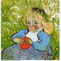 Child with orange 1890 1