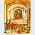 Corridor in the asylum 1889 1