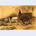 Donkey and cart 1