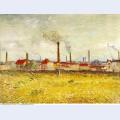 Factories at asnieres seen from the quai de clichy 1887 1