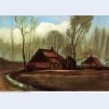 Farmhouses among trees 1883 1