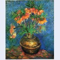 Fritillaries in a copper vase 1887 1