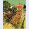 Garden behind a house 1888 1