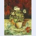Geranium in a flowerpot 1886 1