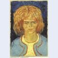 Girl with ruffled hair the mudlark 1888 1