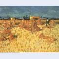 Harvest in provence 1888 1